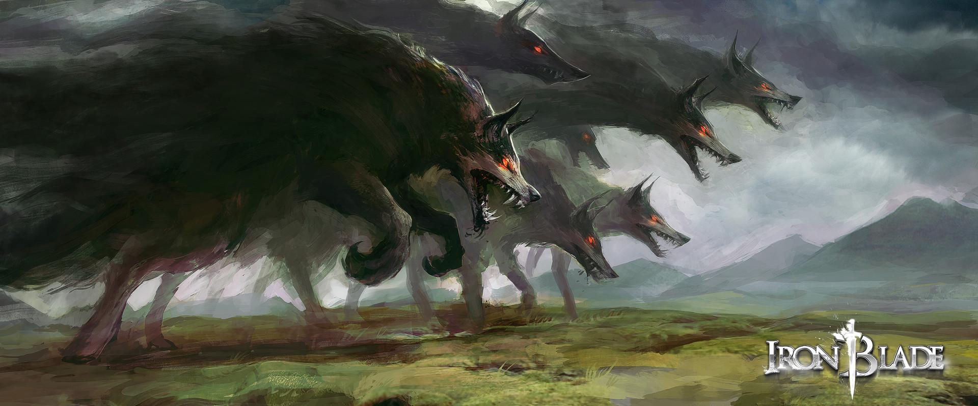 Alexandre chaudret gca creature barghest 03