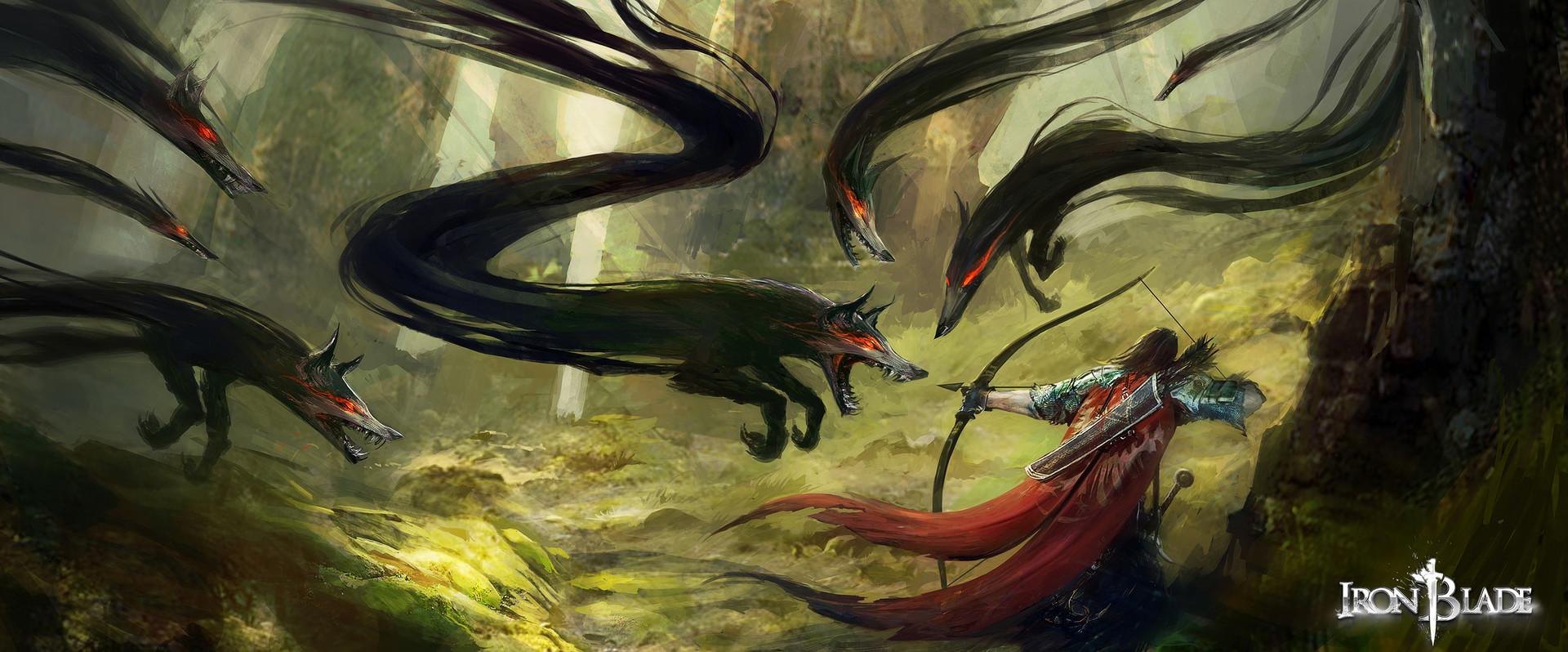 Alexandre chaudret gca creature barghest 04