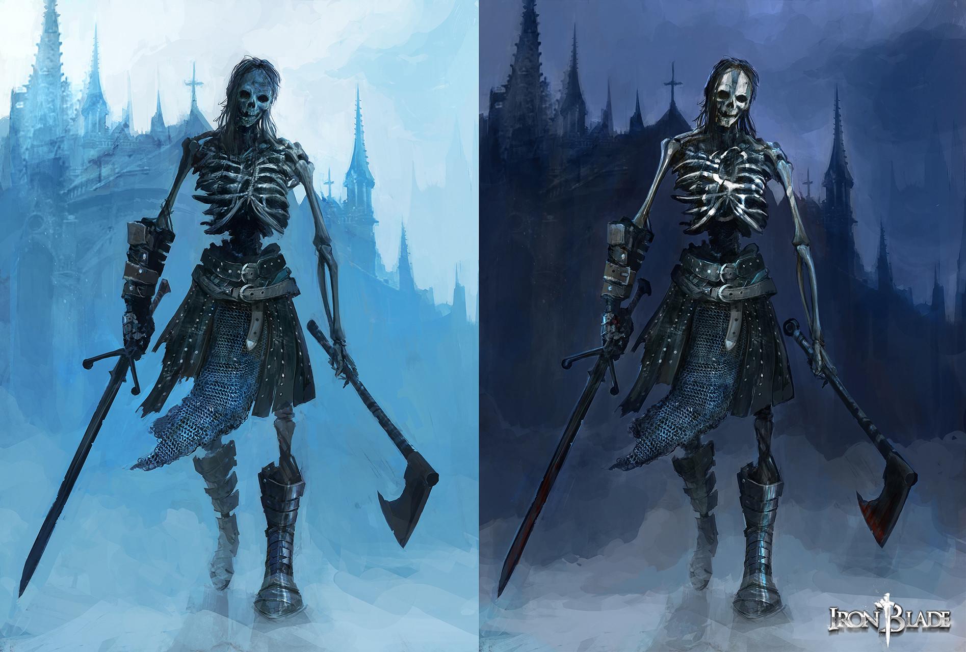 Alexandre chaudret gca creature squelette 01