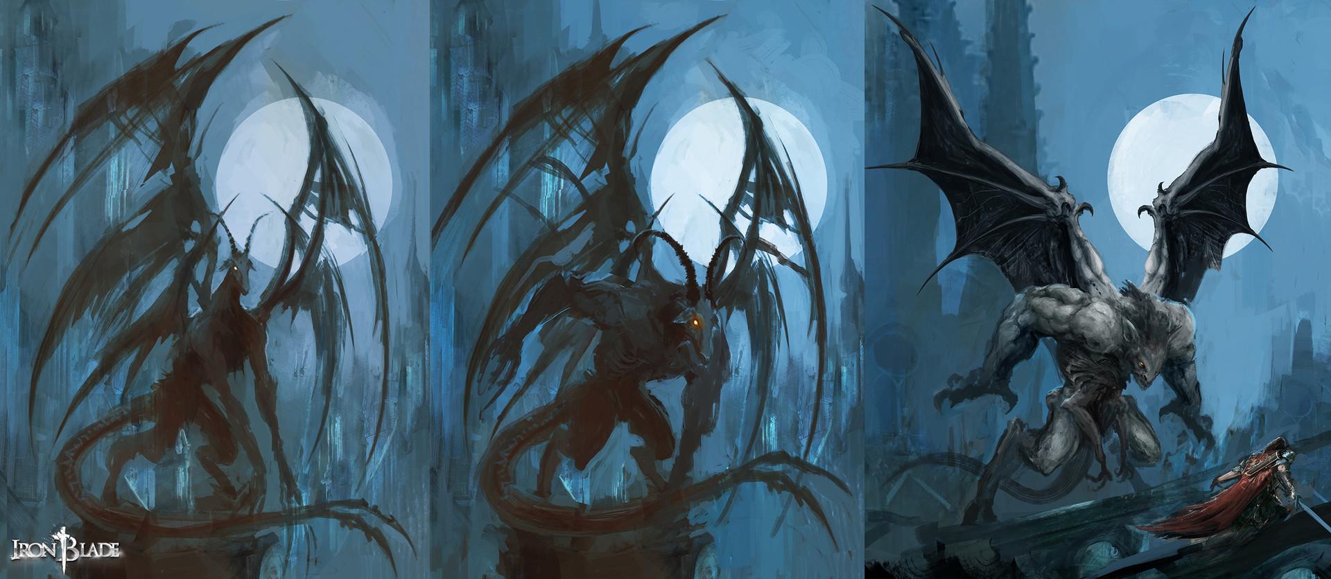 Alexandre chaudret gca creature gargoyle 01