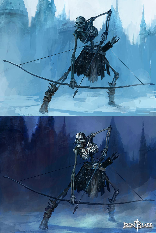 Alexandre chaudret gca creature squelette 02