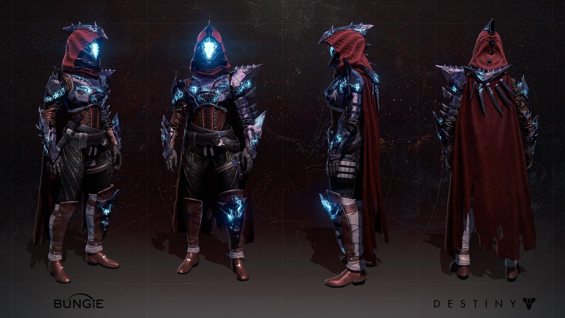 artstation - destiny: age of triumph - hunter - harrowed
