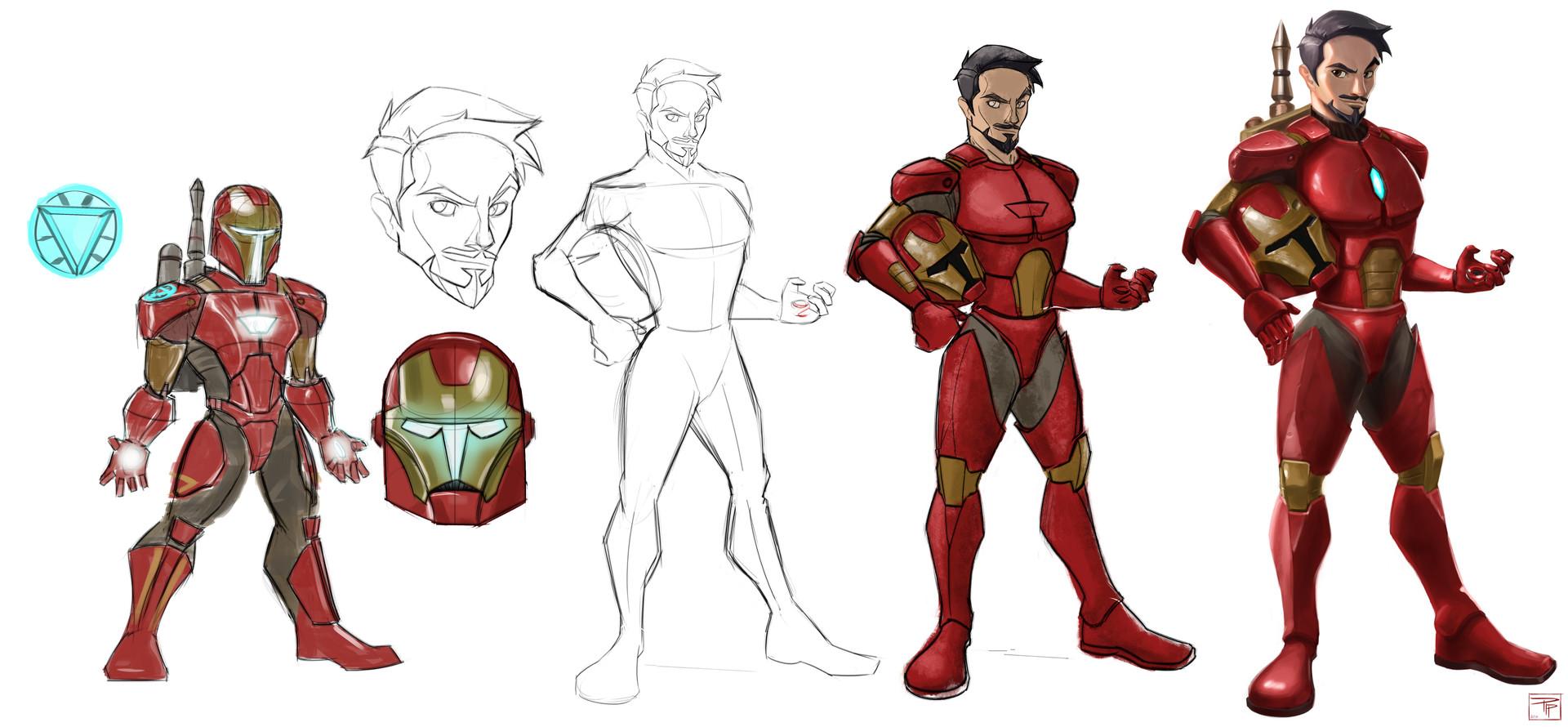 Pip Reyes Iron Mandalorian