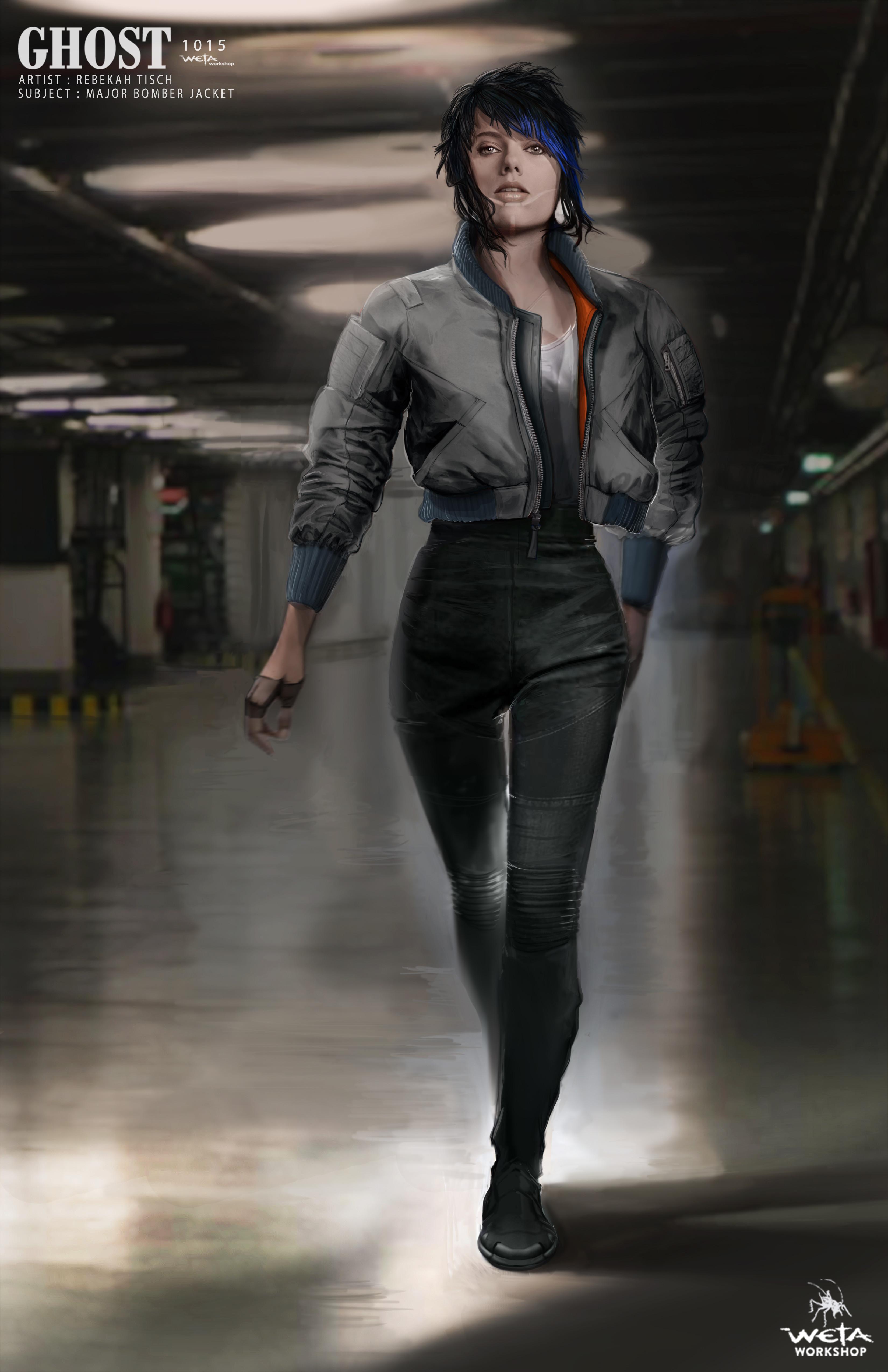 Major Bomber Jacket - Artist: Rebekah Tisch