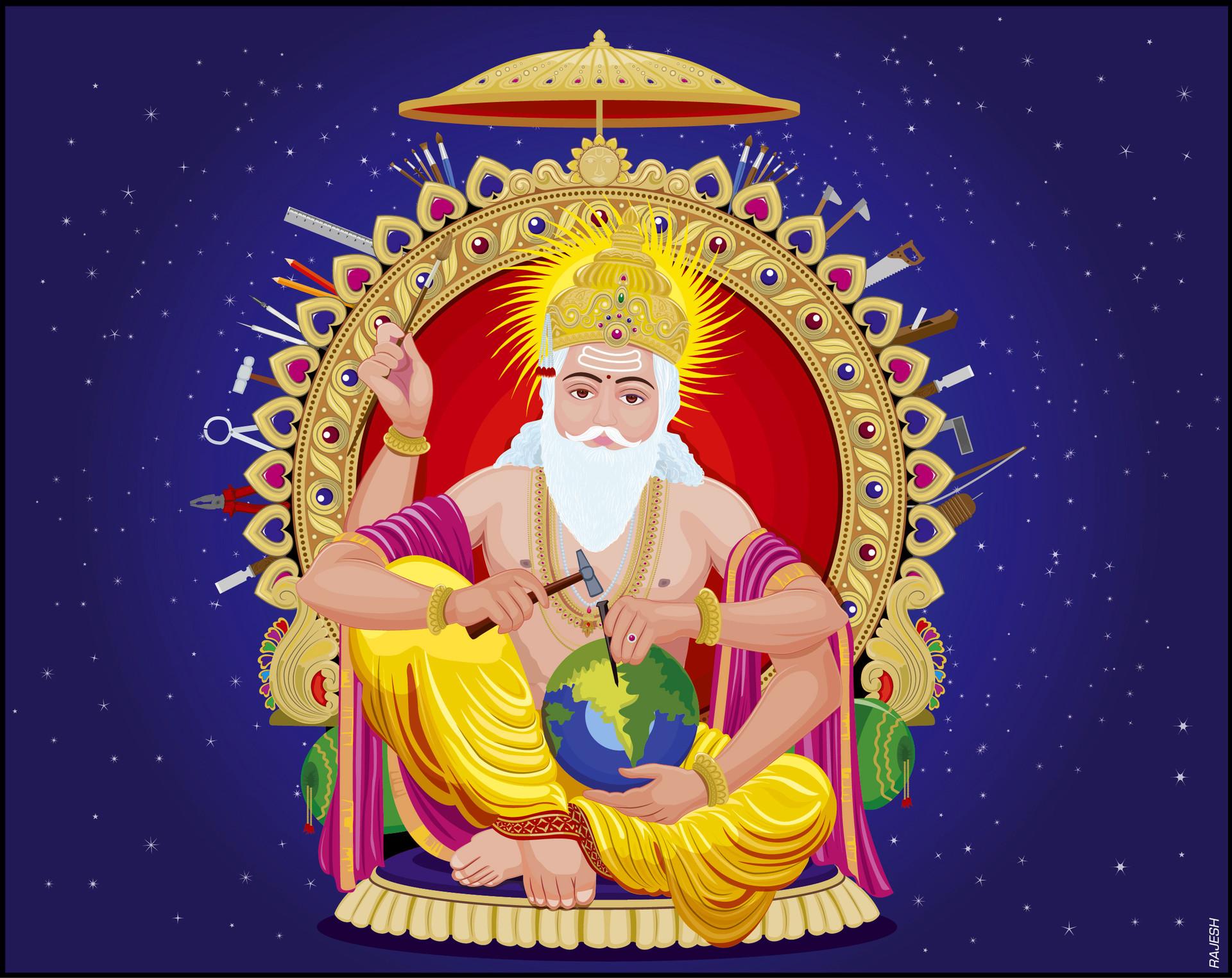 Rajesh sawant vishwakarma vector 01