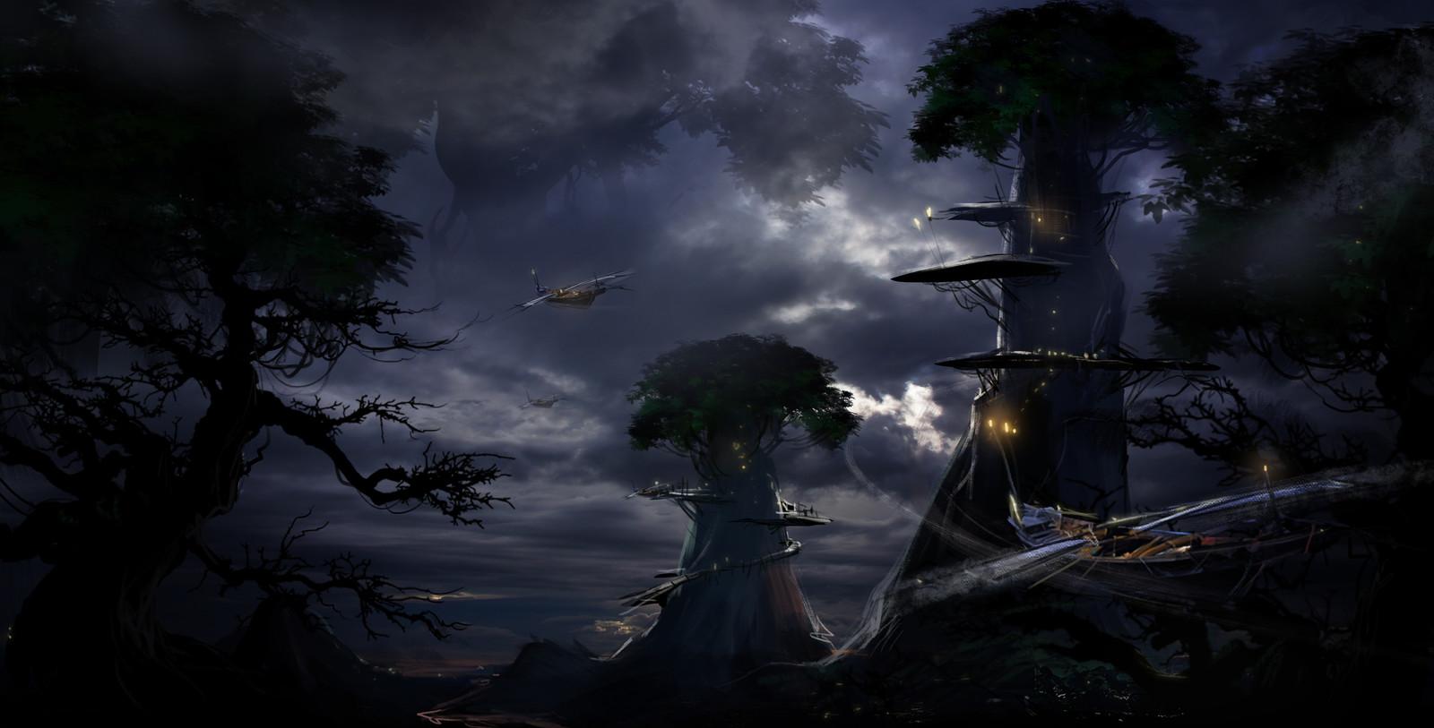 tree colonial .