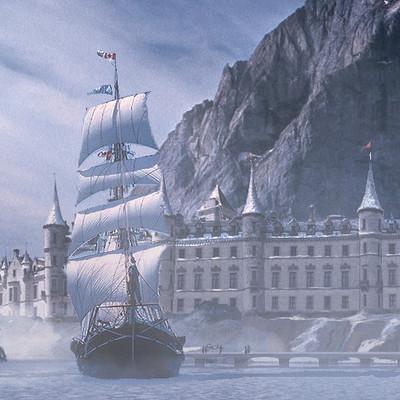 Matej kovacic northern sea castle by matej kovacic