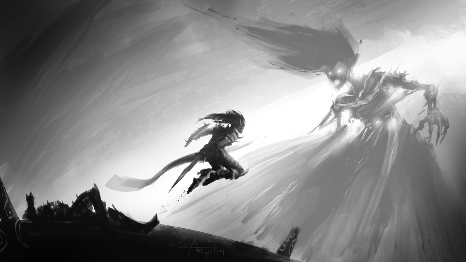 Speedpaint: Banshee Battle