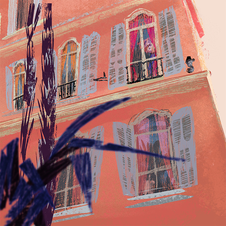 Anais marmonier south of france nice illustration anais marmonier french riveria 0003 4 south of france nice illustration anais m