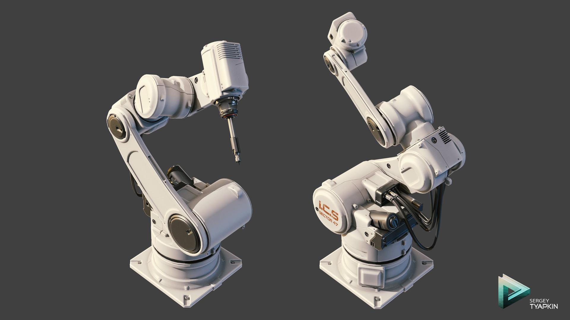 Sergey tyapkin day9 roboticarm 5hours