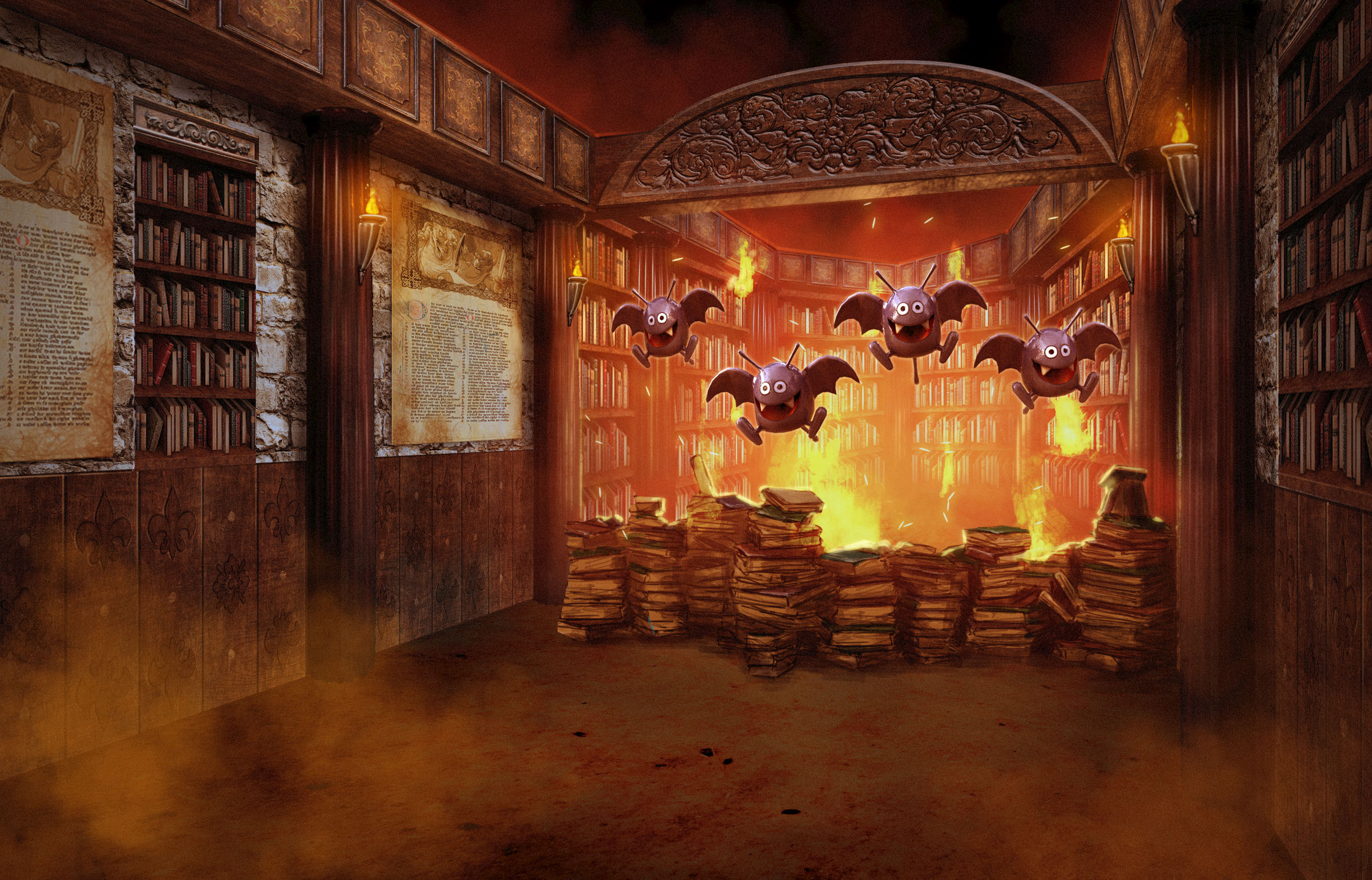 Fire Villain Library