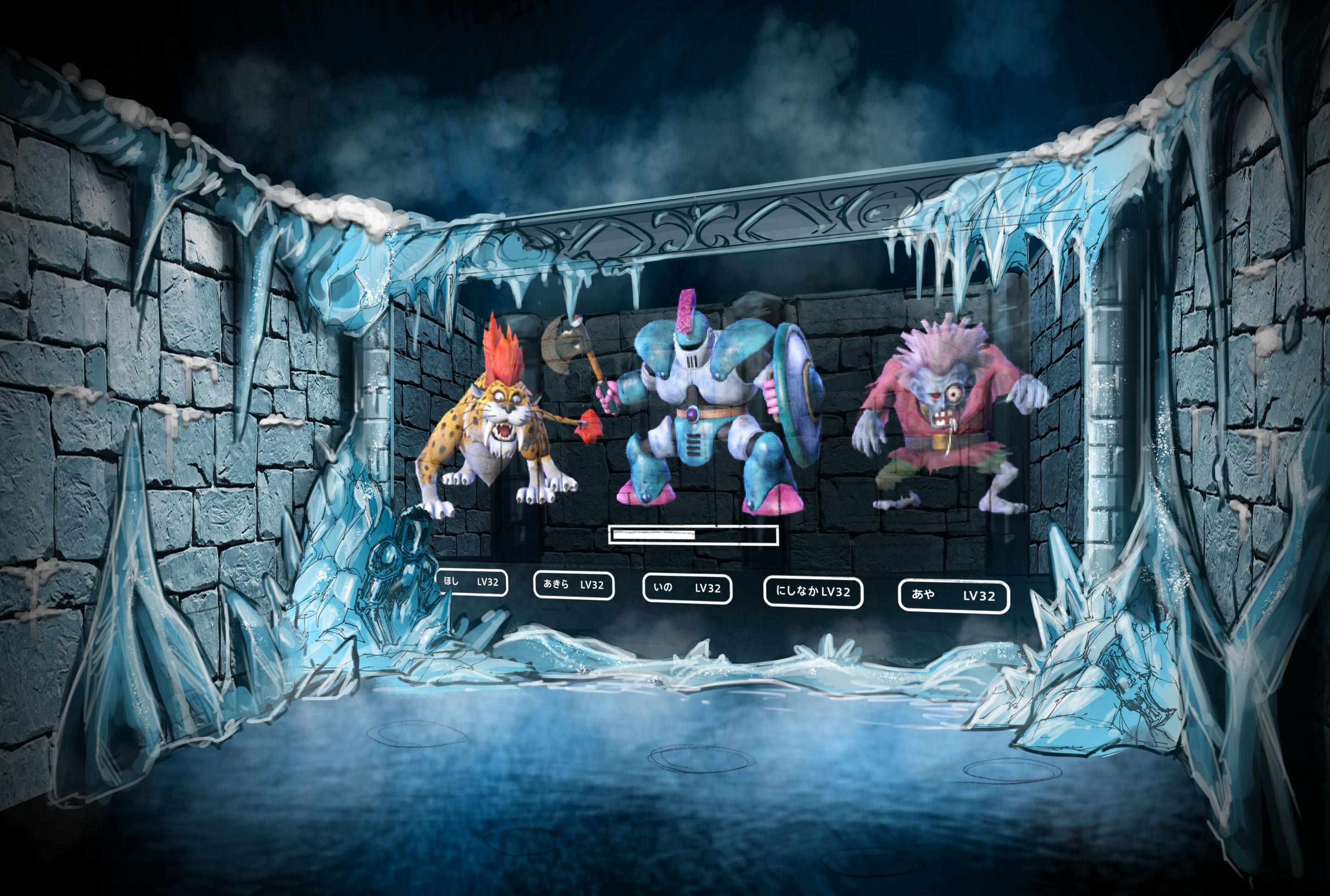 Ice Villain Dungeon