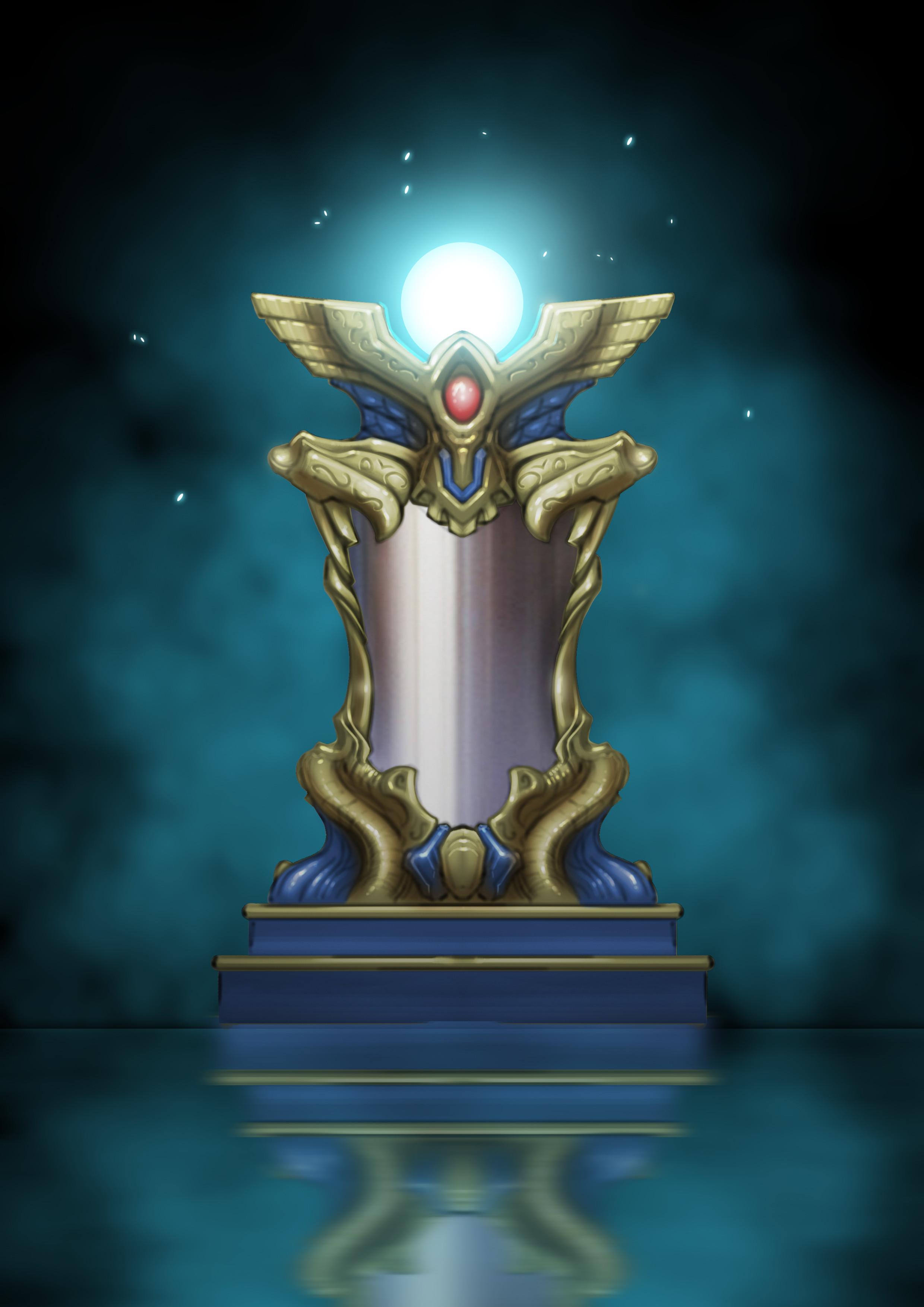 Ball of Light Pedestal