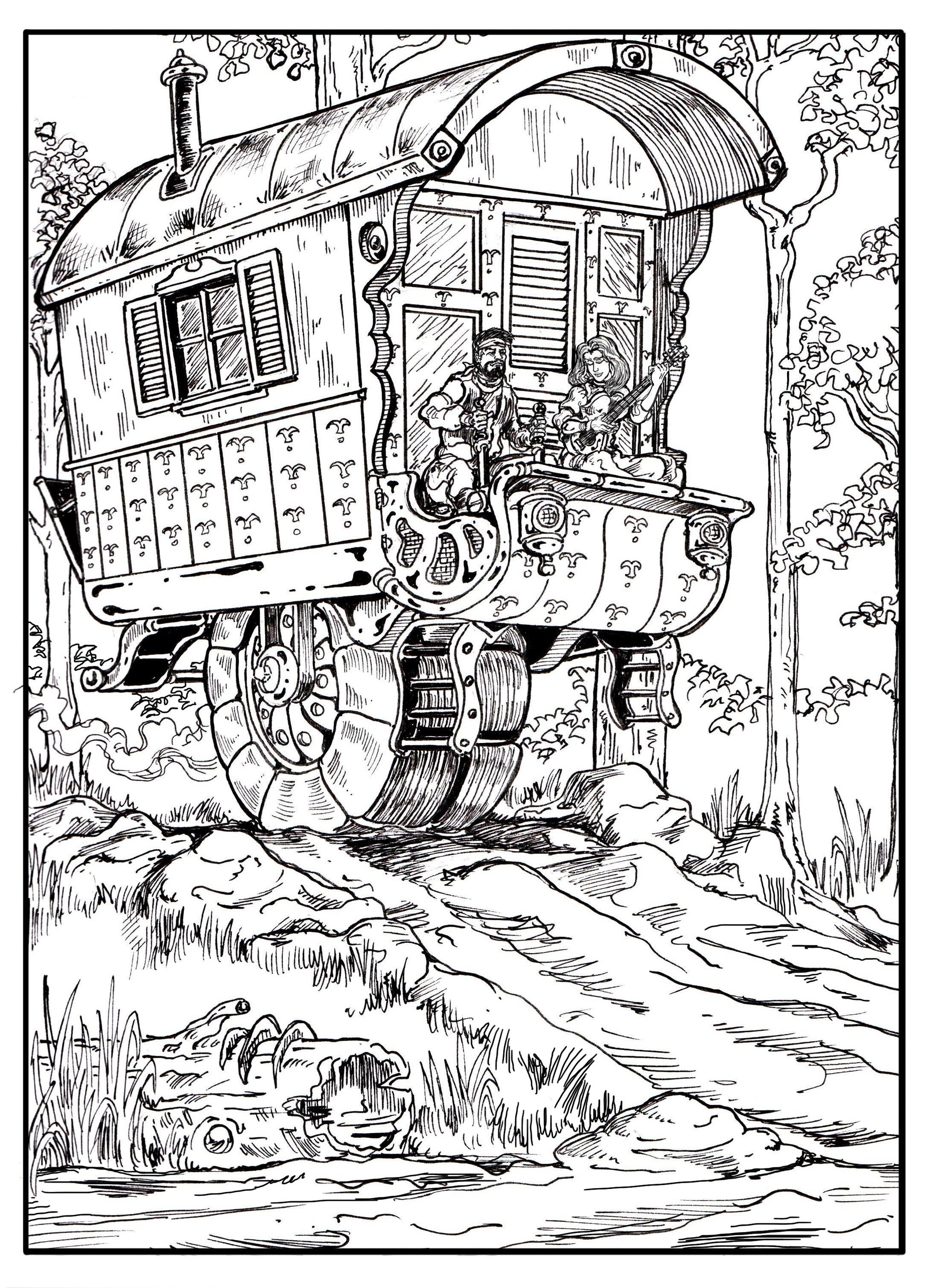 Vincent bryant gypsy wagon
