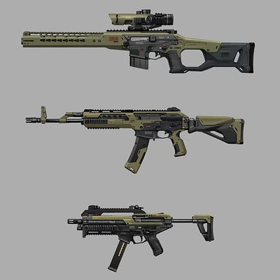 Alex ichim weapon designs
