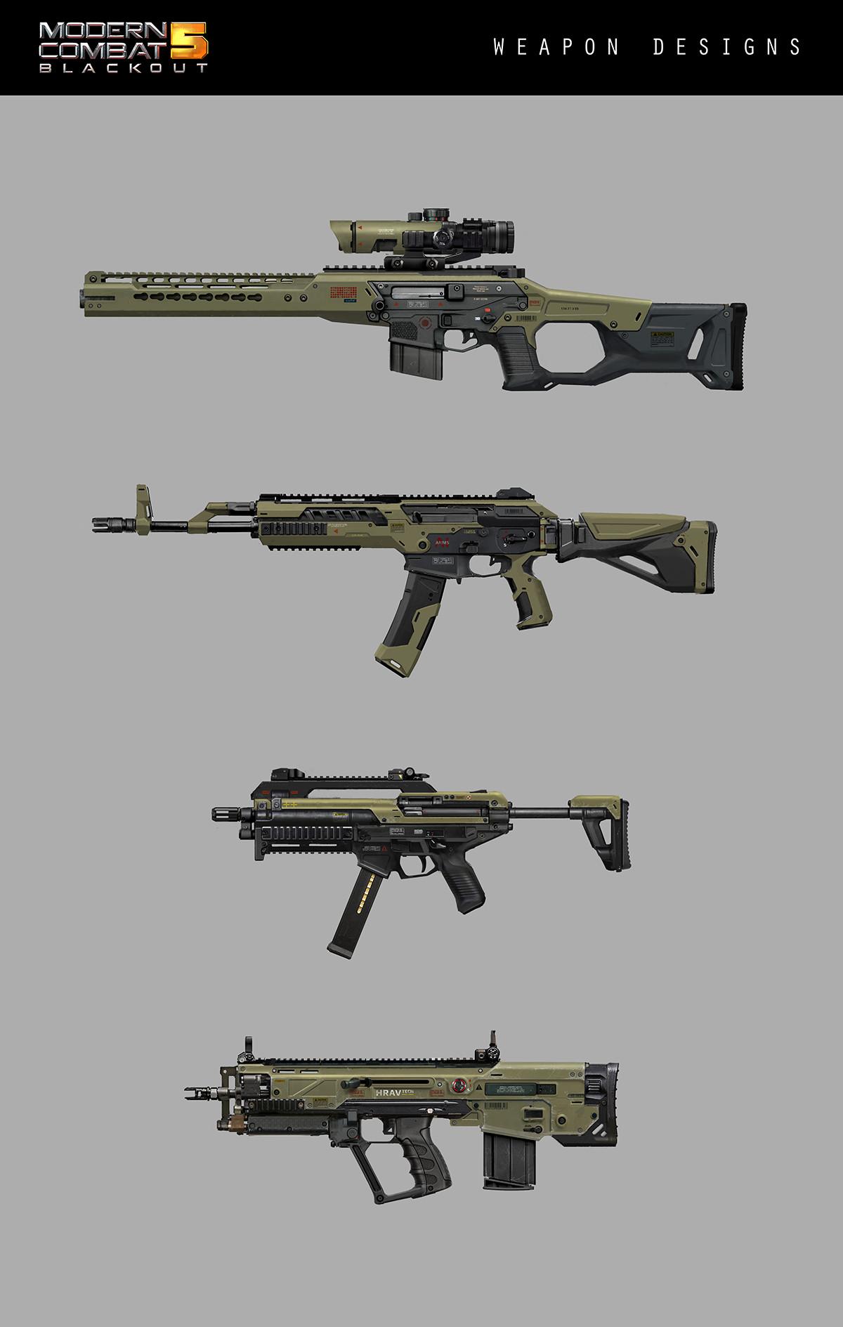 Alex ichim weapon designs