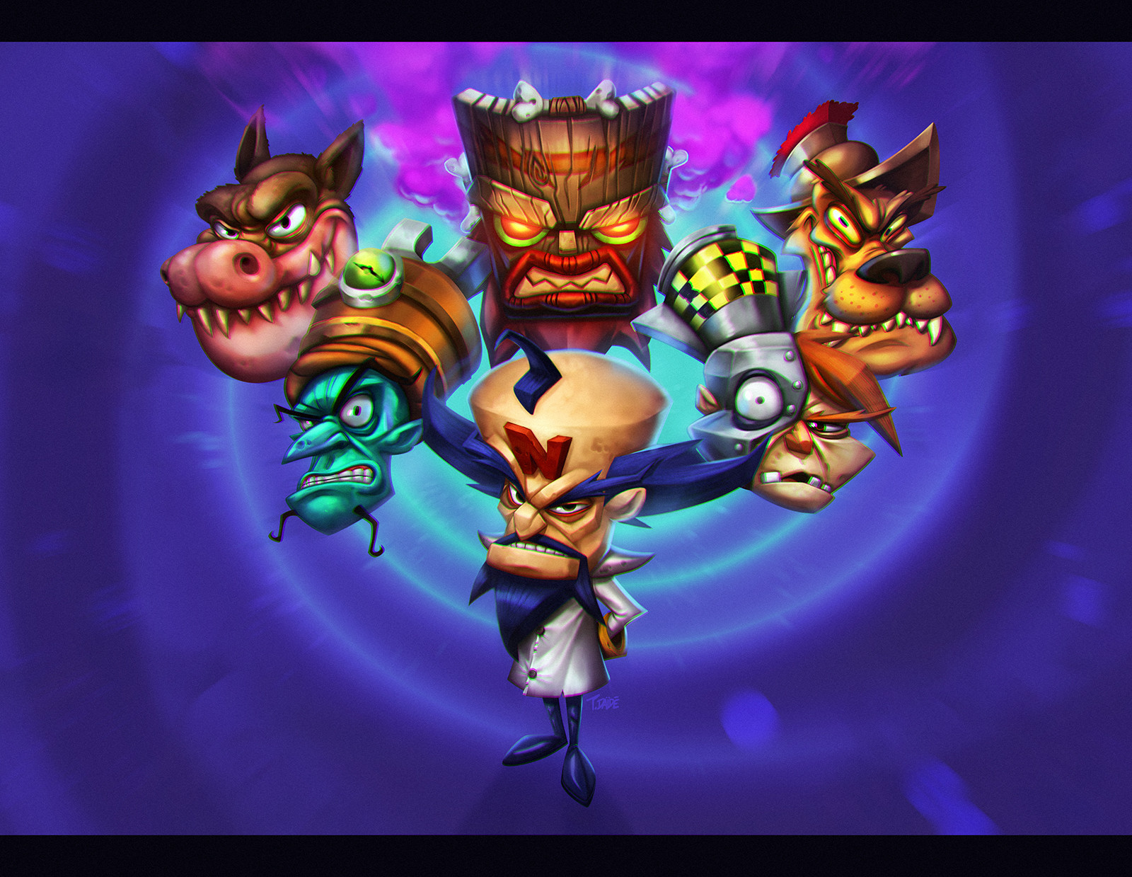 Crash Bandicoot Tribute
