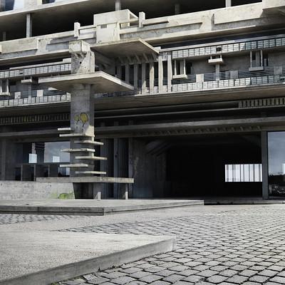 Tamas csordas urban building 01