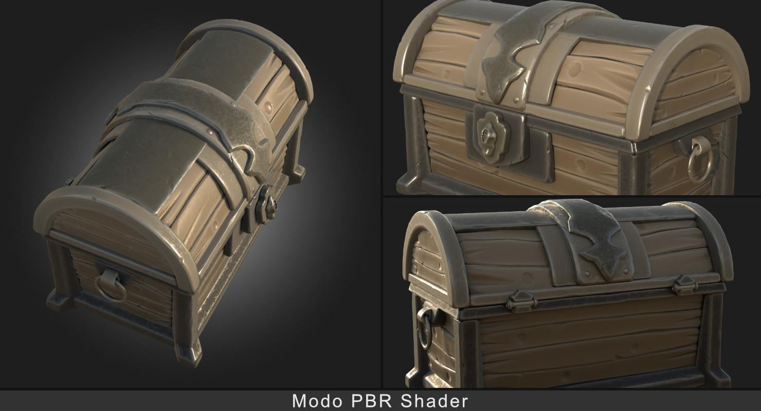 Modo PBR Shader