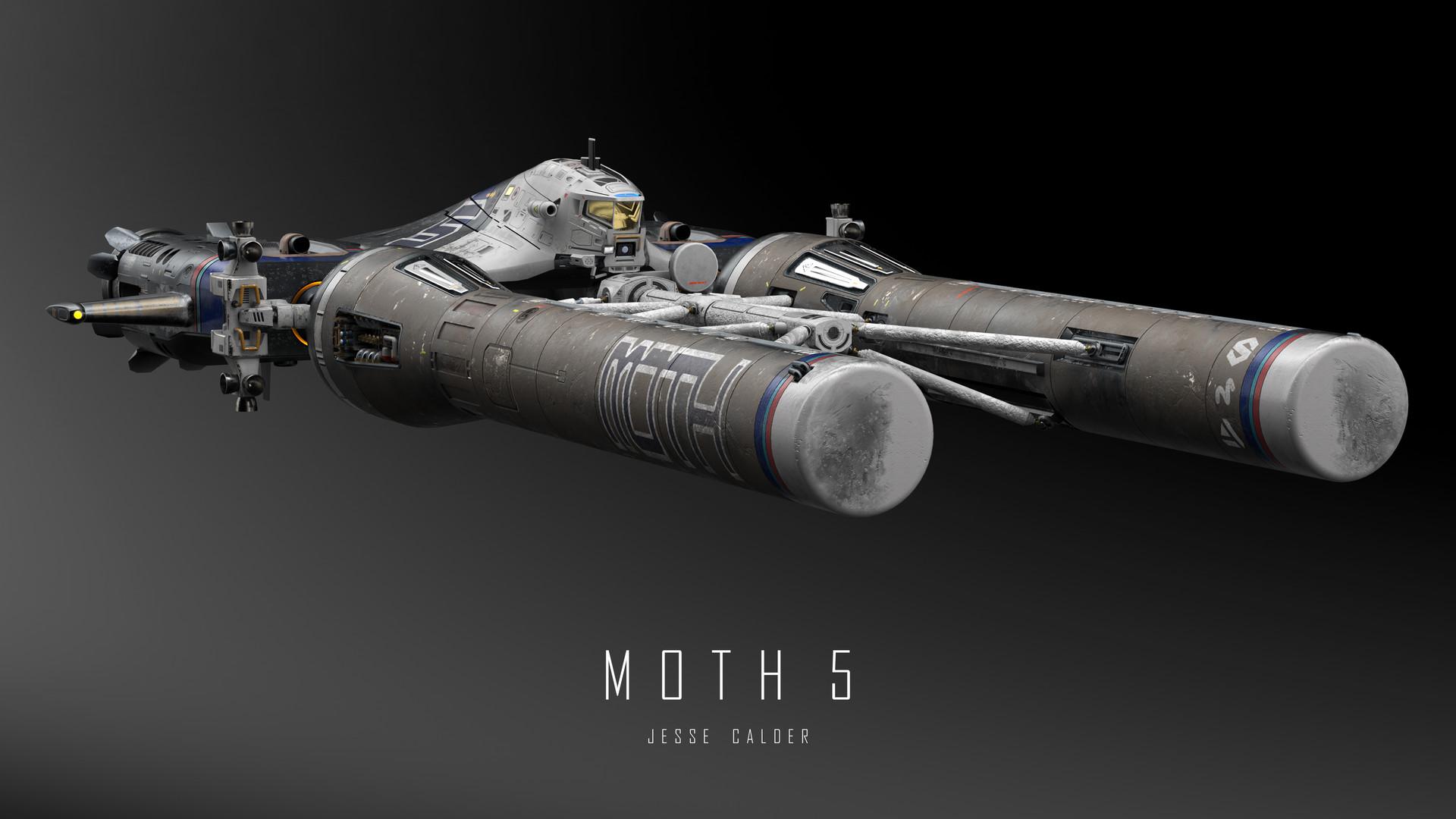 Jesse calder moth render 052 titled