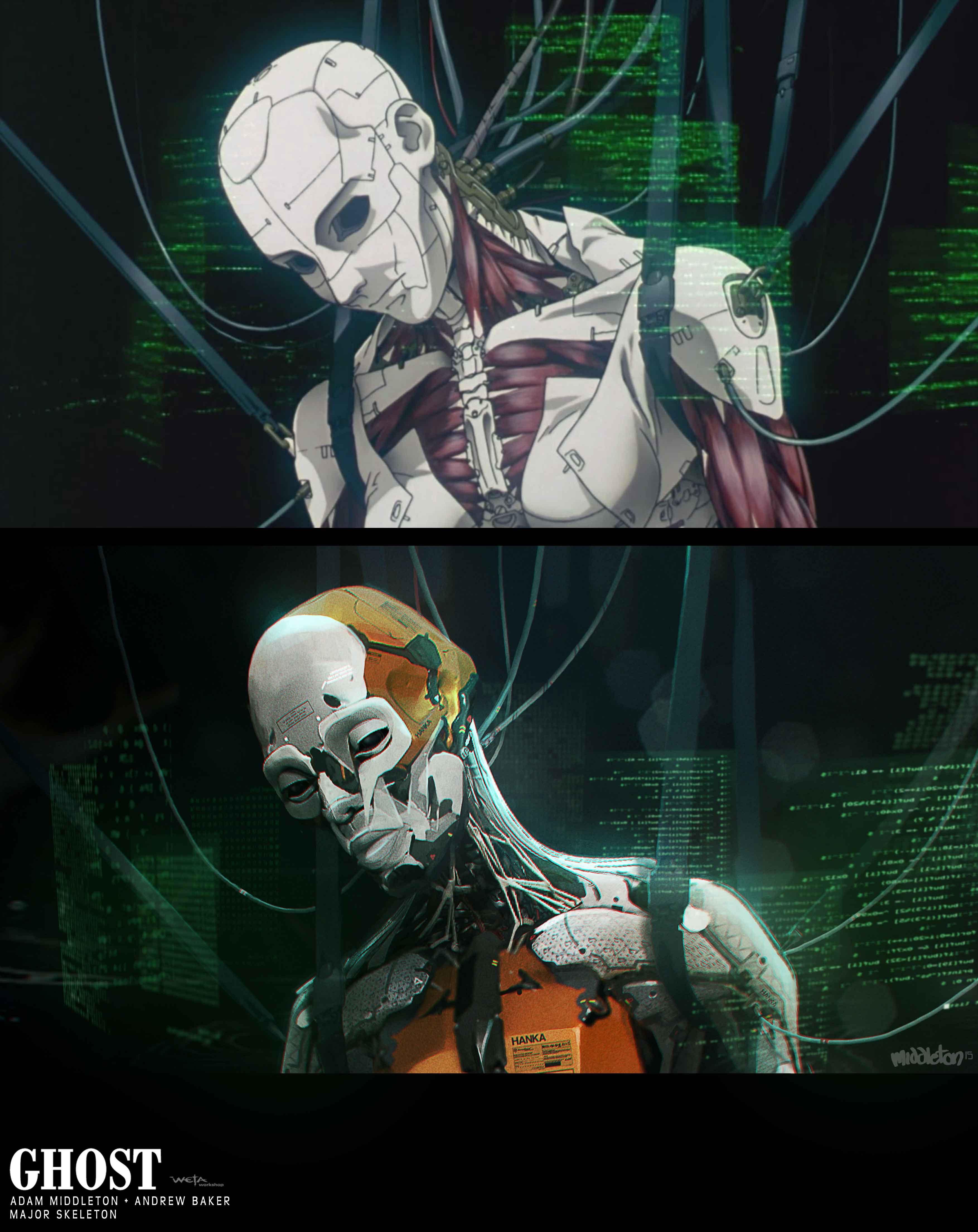 Major Skeleton - Artists: Andrew Baker + Adam Middleton