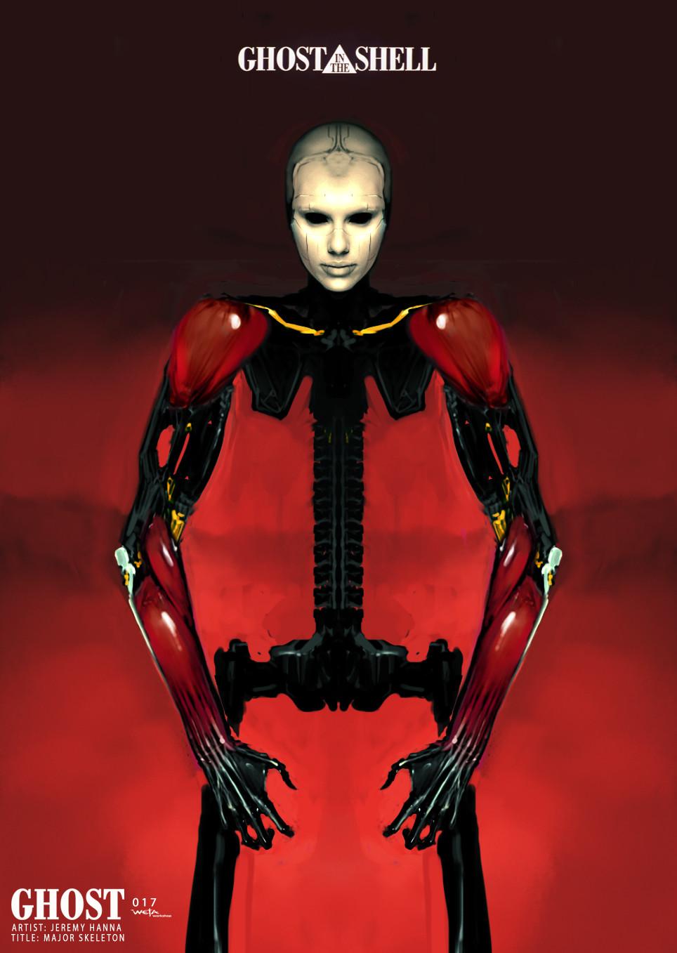 Major Skeleton - Artist: Jeremy Hanna