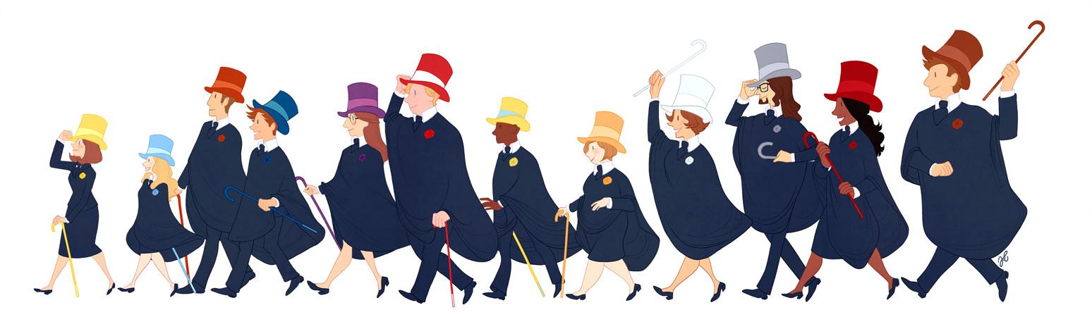 Joana carvalho top hats
