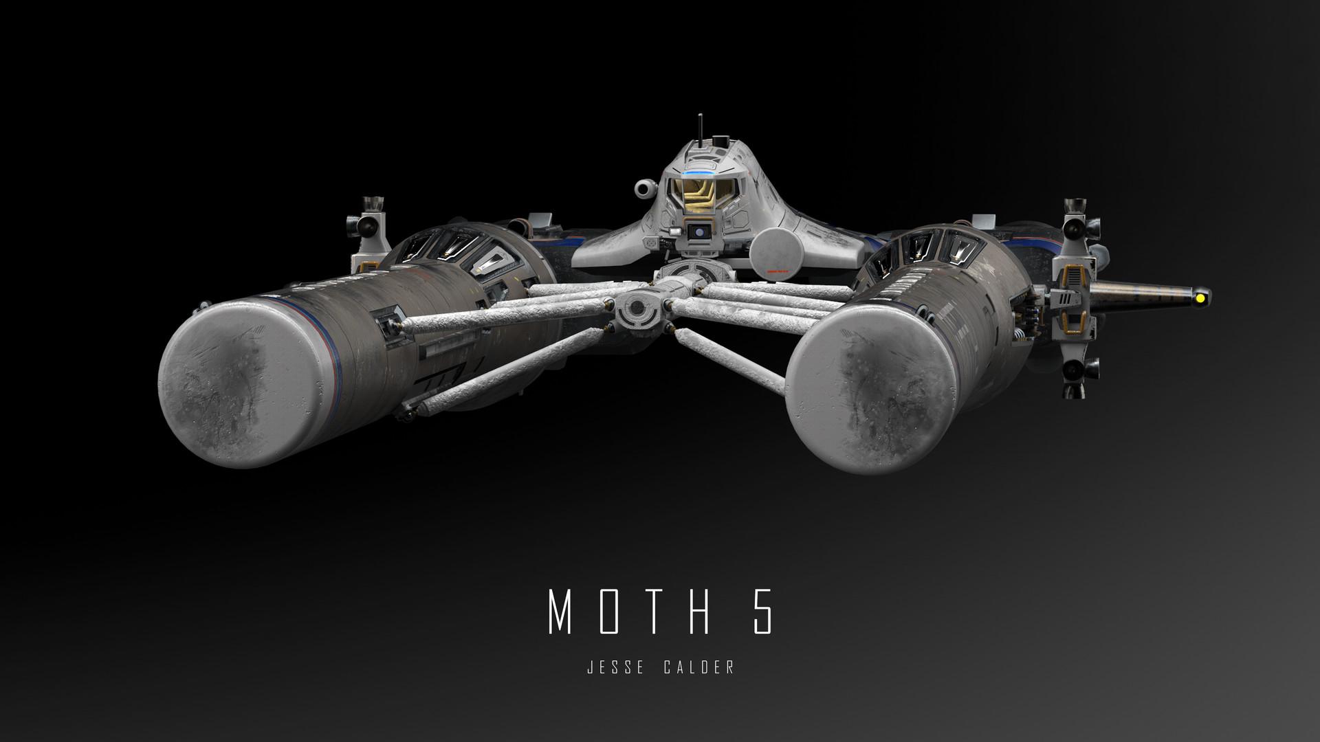 Jesse calder moth render 053 titled