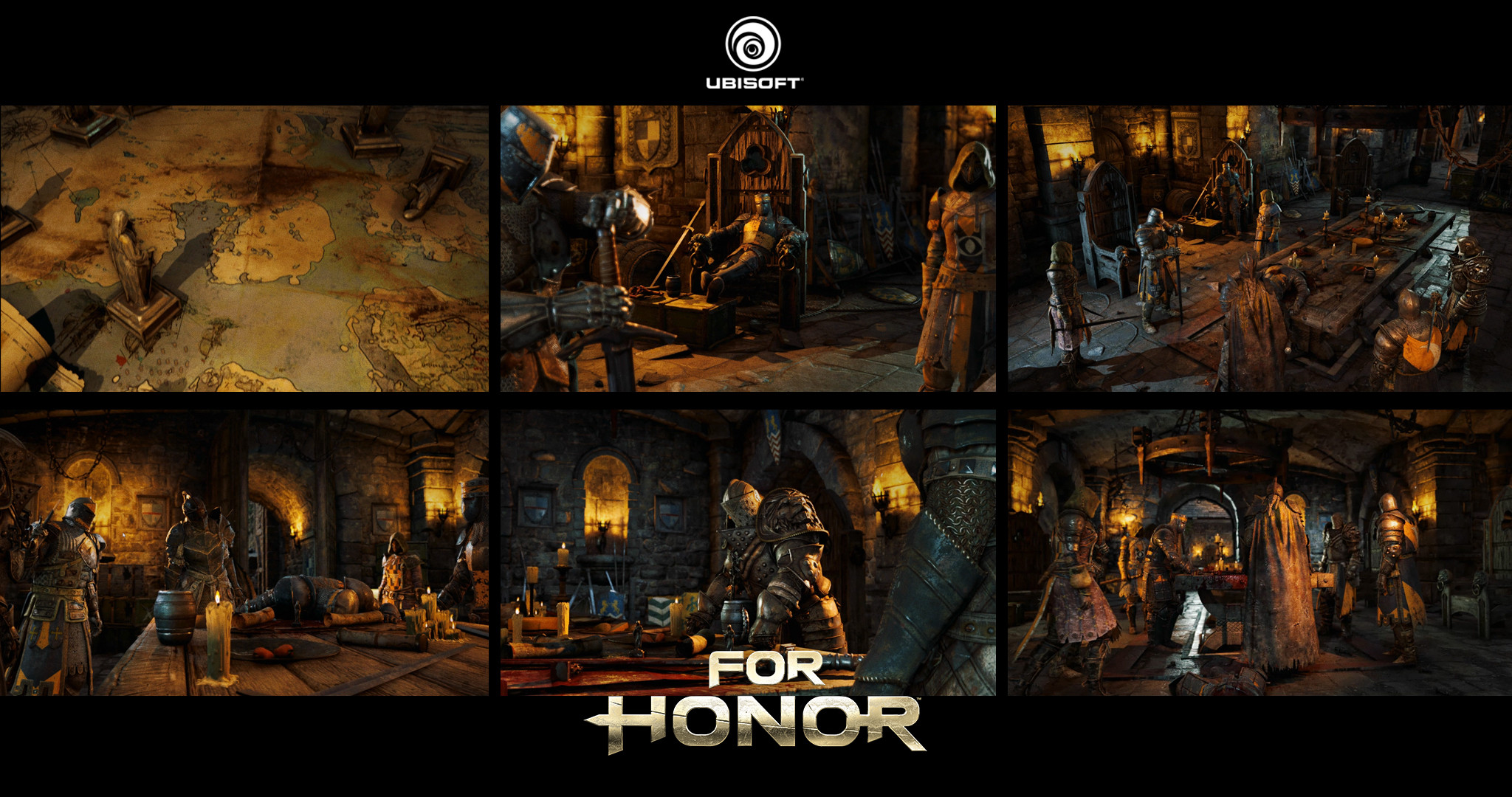 For Honor in-game cinematic, Credits to Ubi Toronto Cinematics Team