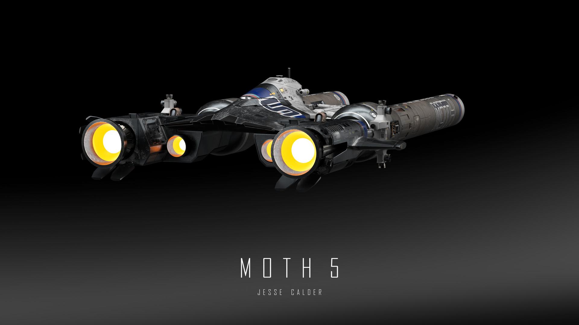 Jesse calder moth render 054 titled