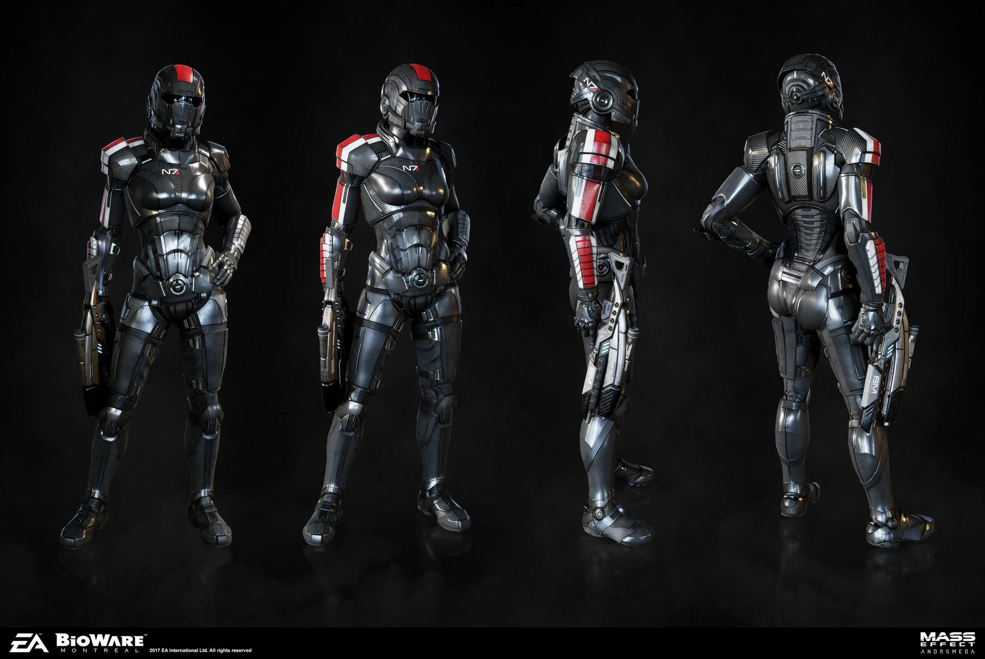 N7 Armor Mass Effect Andromeda: Herbert Lowis