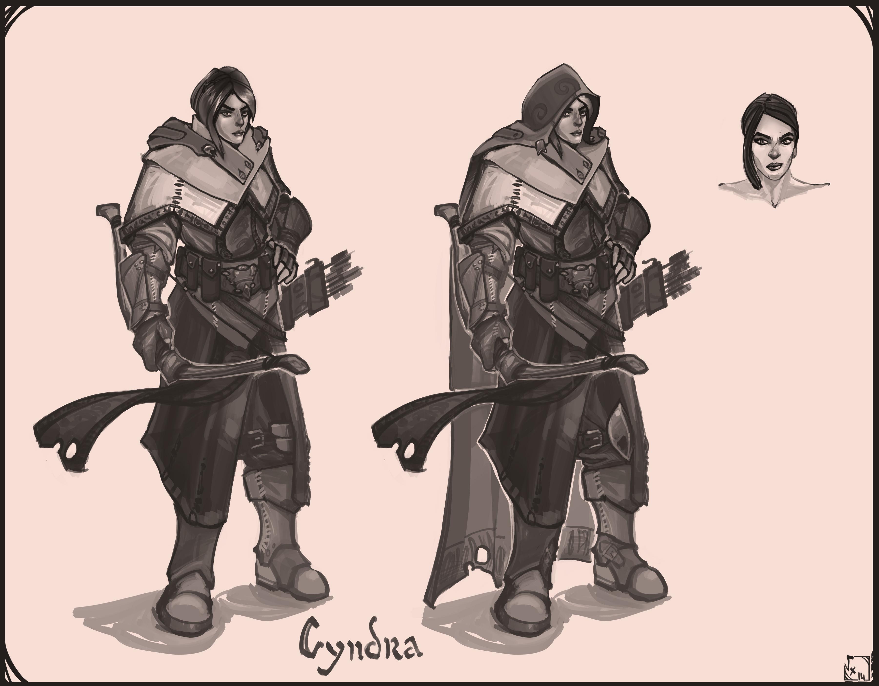 Cyndra - Secondary Character