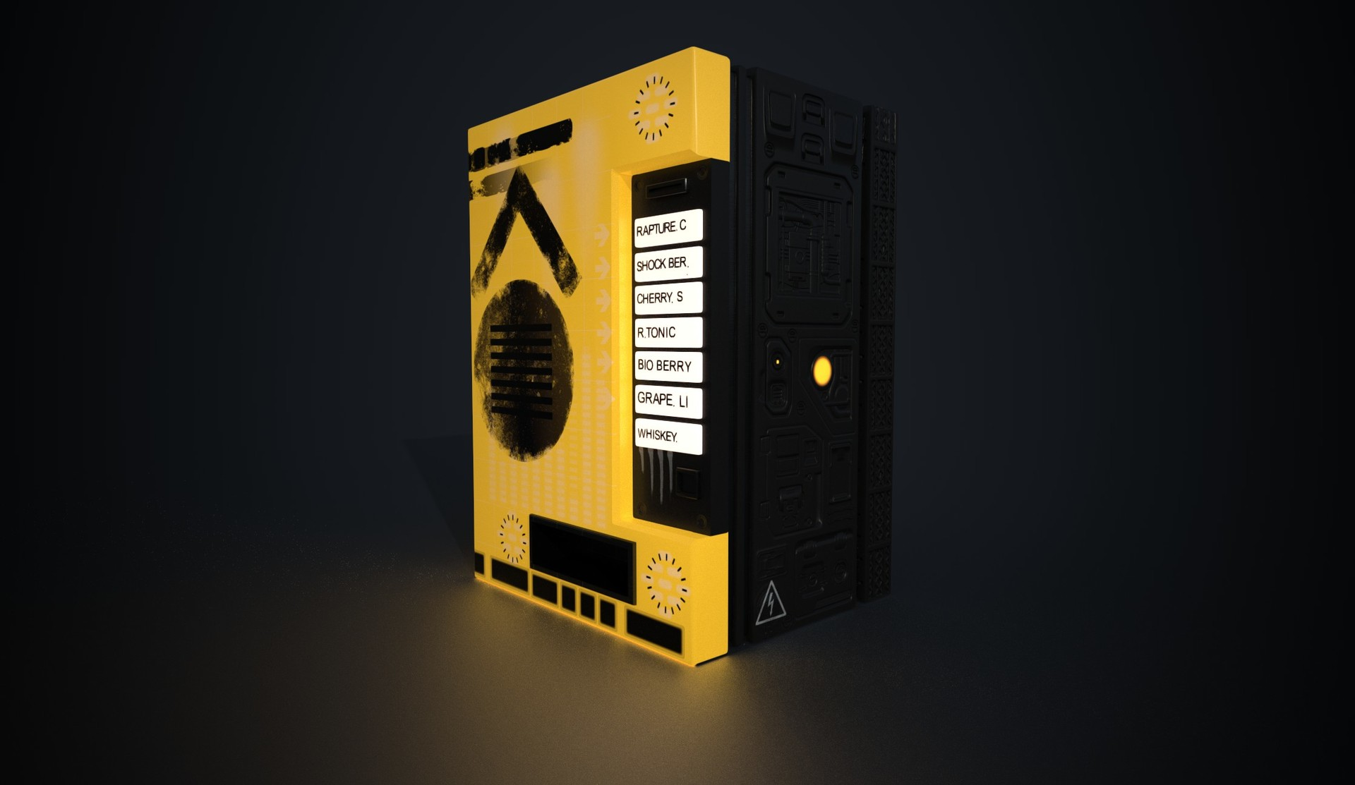 Jordan spinks vending machine final