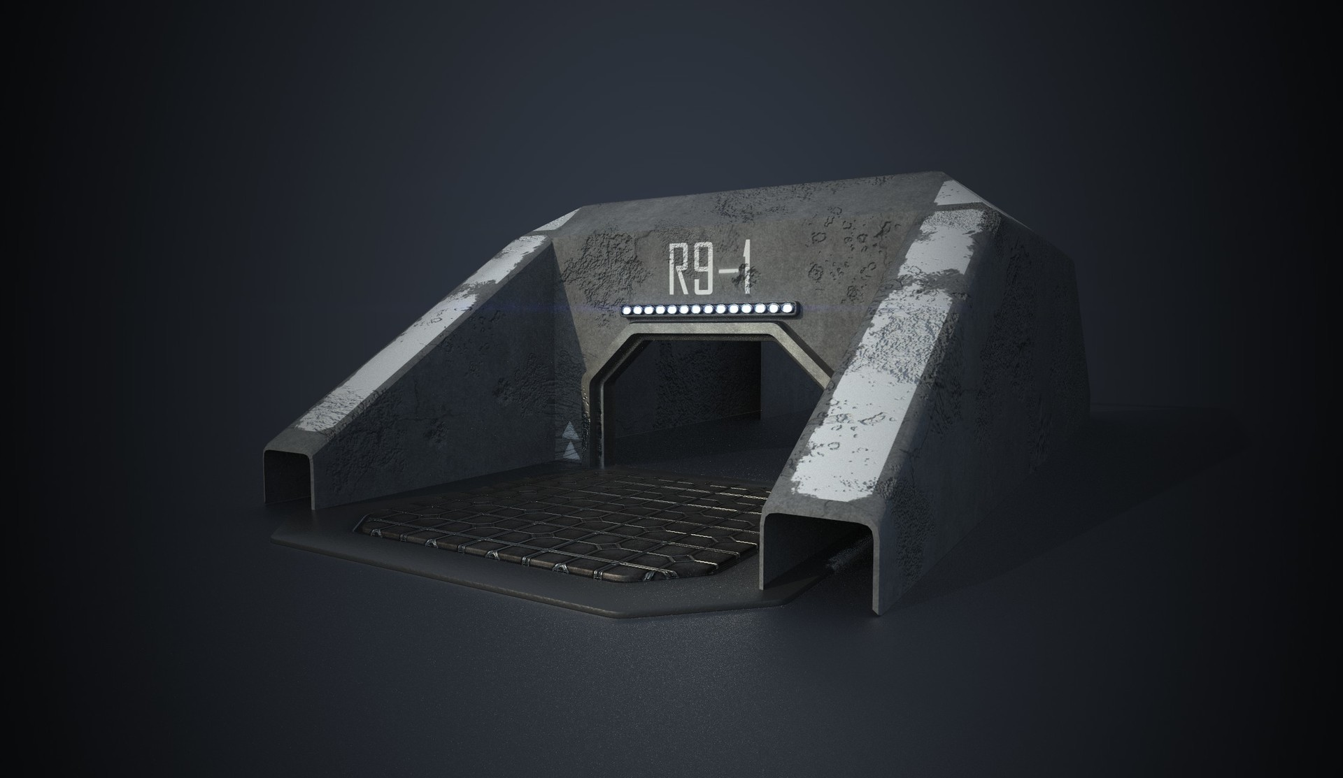 Jordan spinks entrance bunker