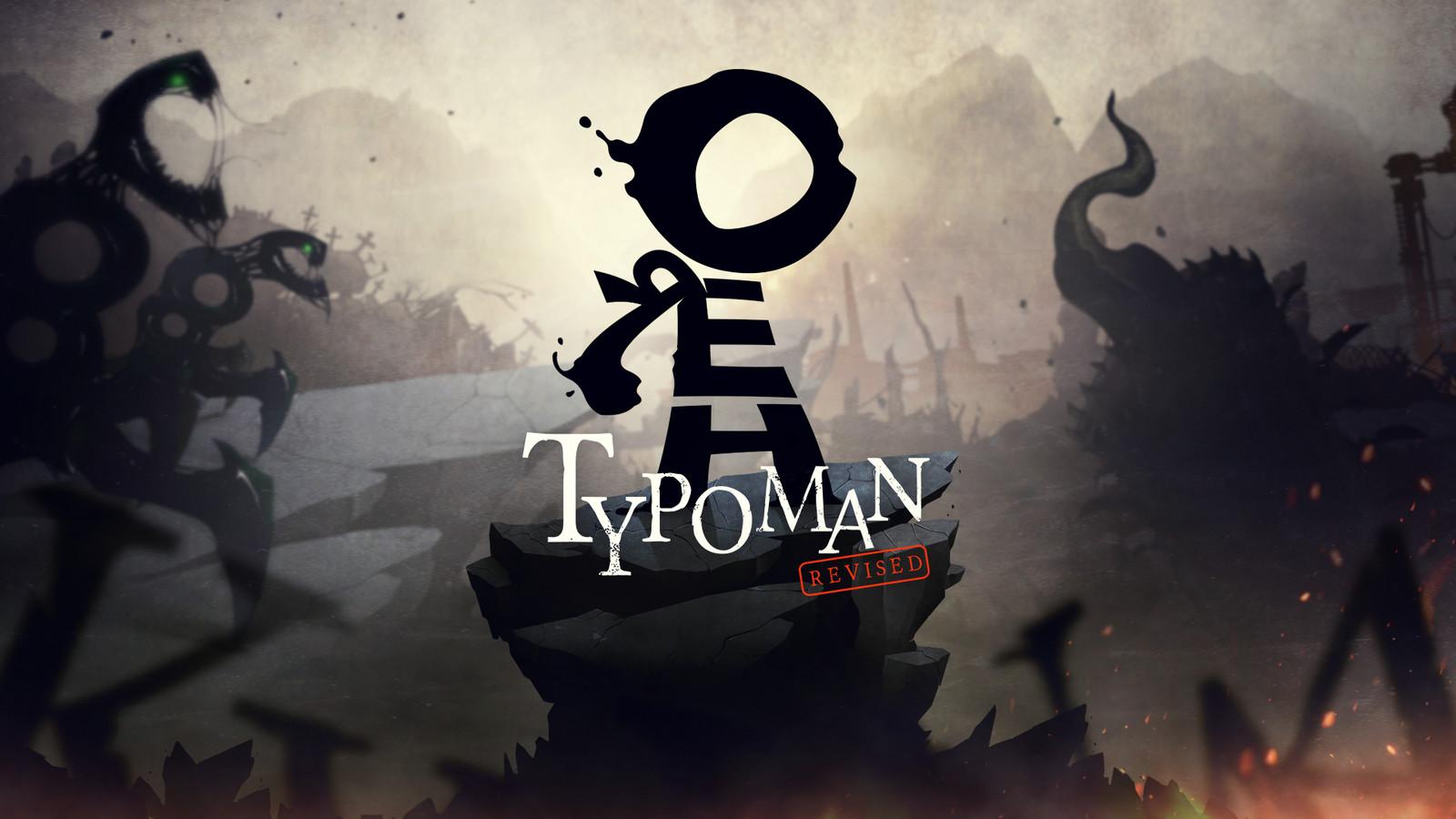 TYPOMAN REVISED - 2D Puzzle Platformer Game