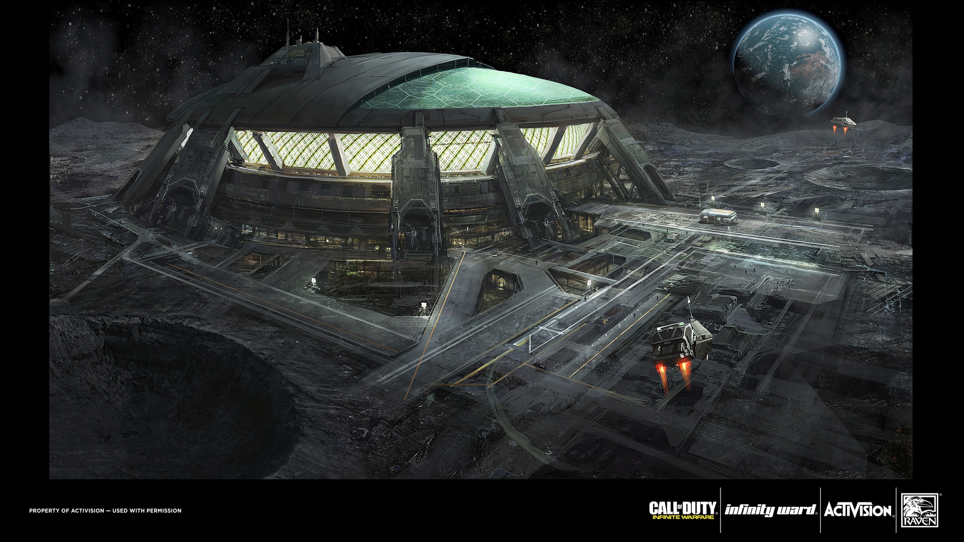 lunar colony in space - photo #20