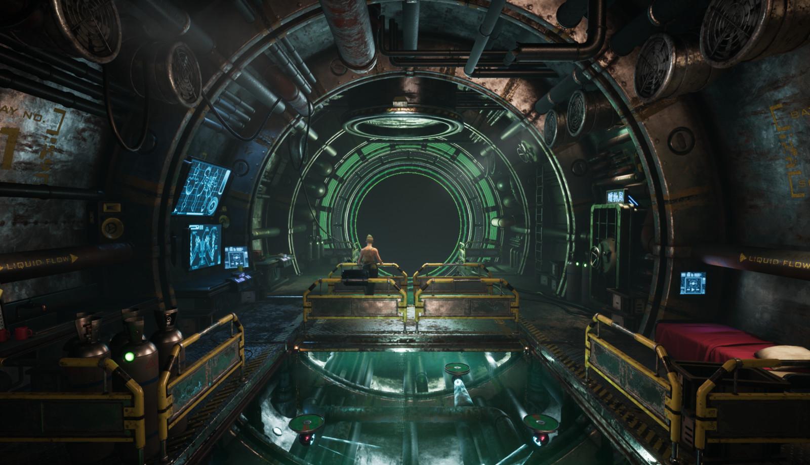Uni Sci-fi Environment