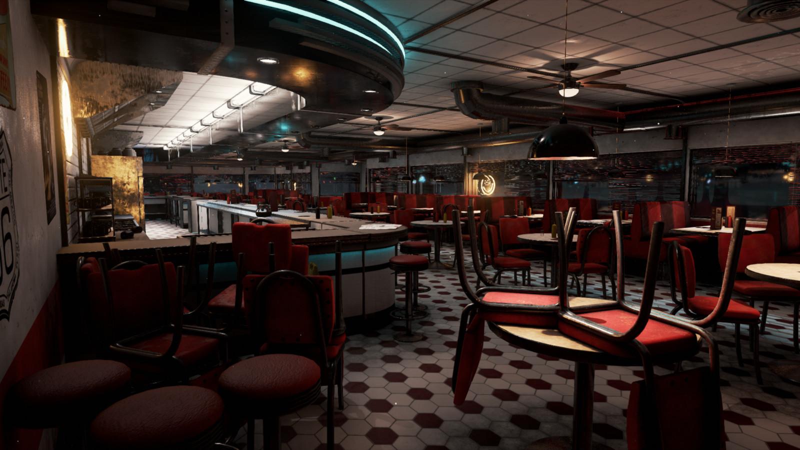 Modular American Diner
