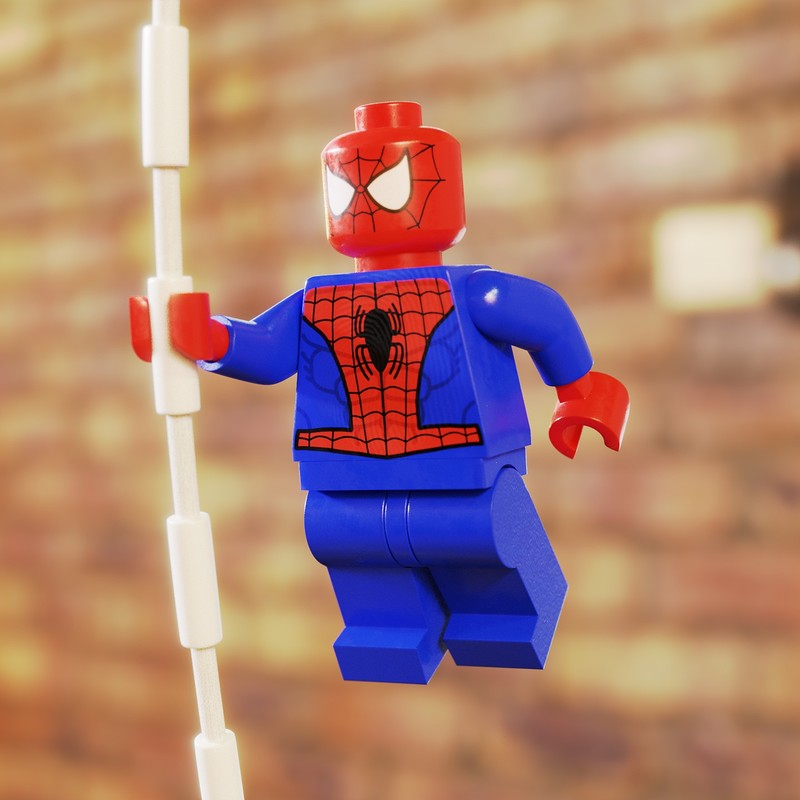 Spiderman Minifig