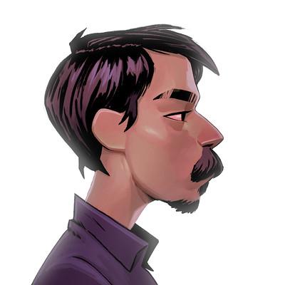 Portrait (Gorillaz / Jamie Hewlett inspired)