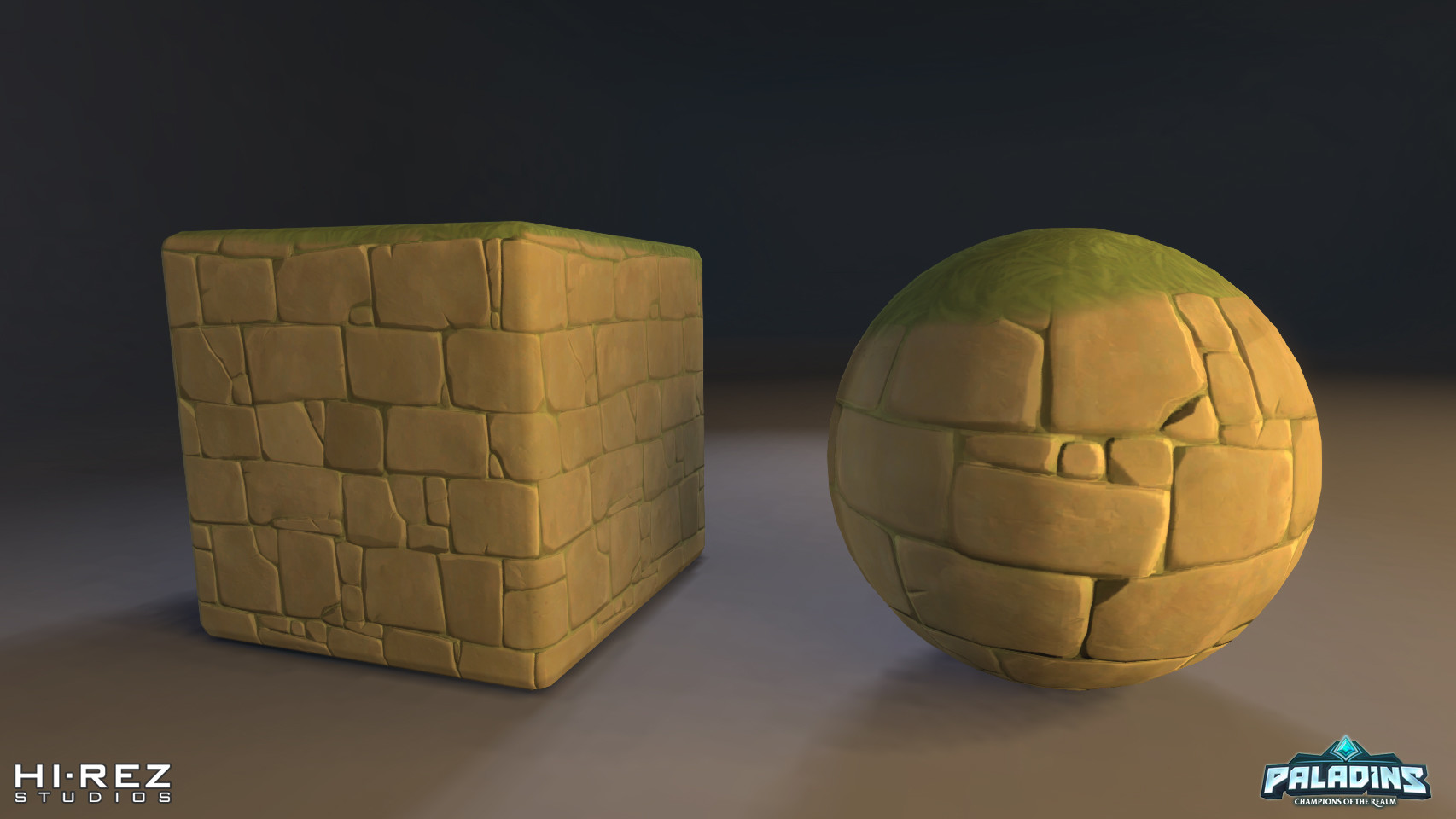 Various materials for the tropical map art set. Main goal was to keep the instruction count low as possible + having the ability to vertex blend moss/sand on meshes. I was also responsible for a first-pass textures and animated ocean/waterfall materials.