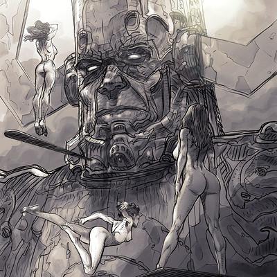 Daniele afferni daniele afferni artist galactus