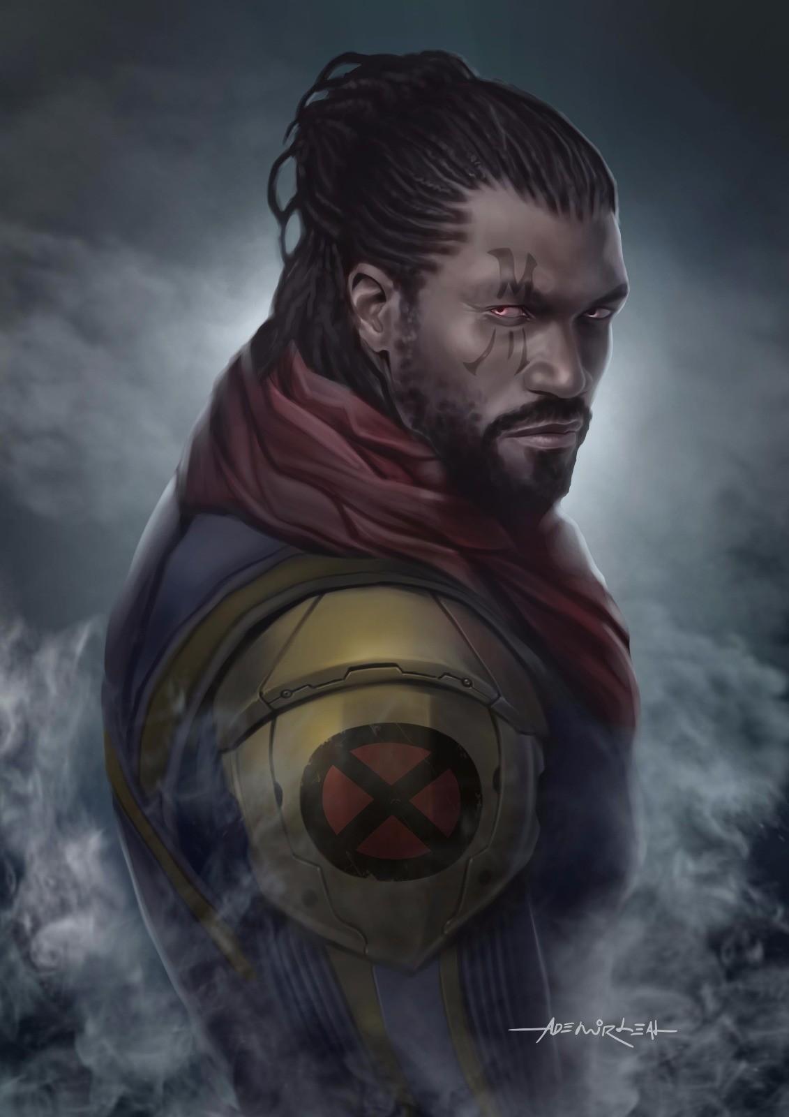 ArtStation - Bishop X-men, Ademir Leal