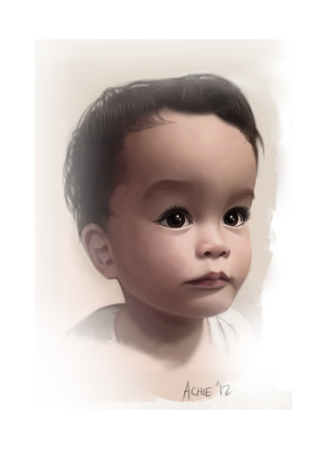Study of my son