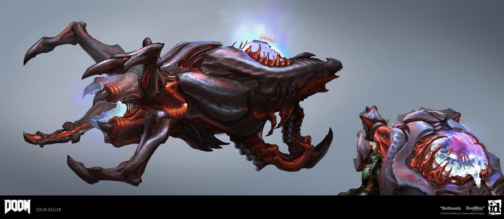 ArtStation - DOOM - Reaper DLC Weapon, Colin Geller