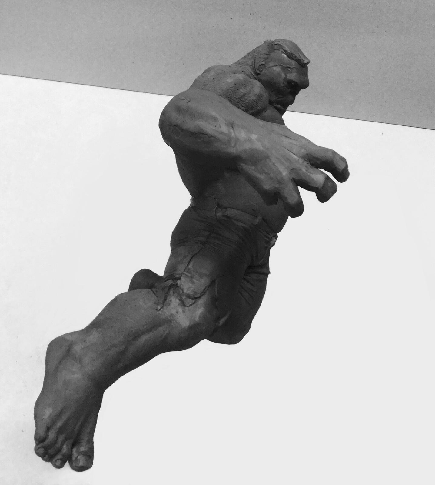 Hulk/quick sketch/plasticine