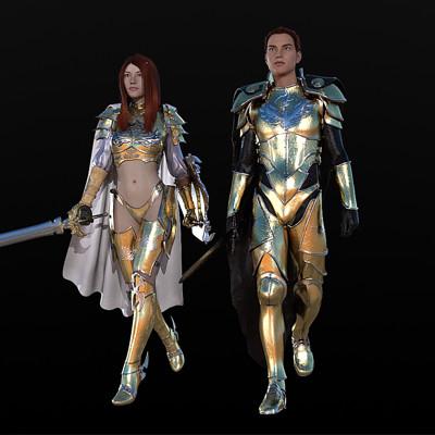David roberson avalon 6 g3m battle armor avonlea 6 g3f white knight complement
