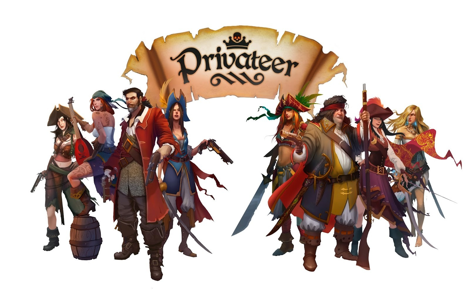 privateer campaign poster