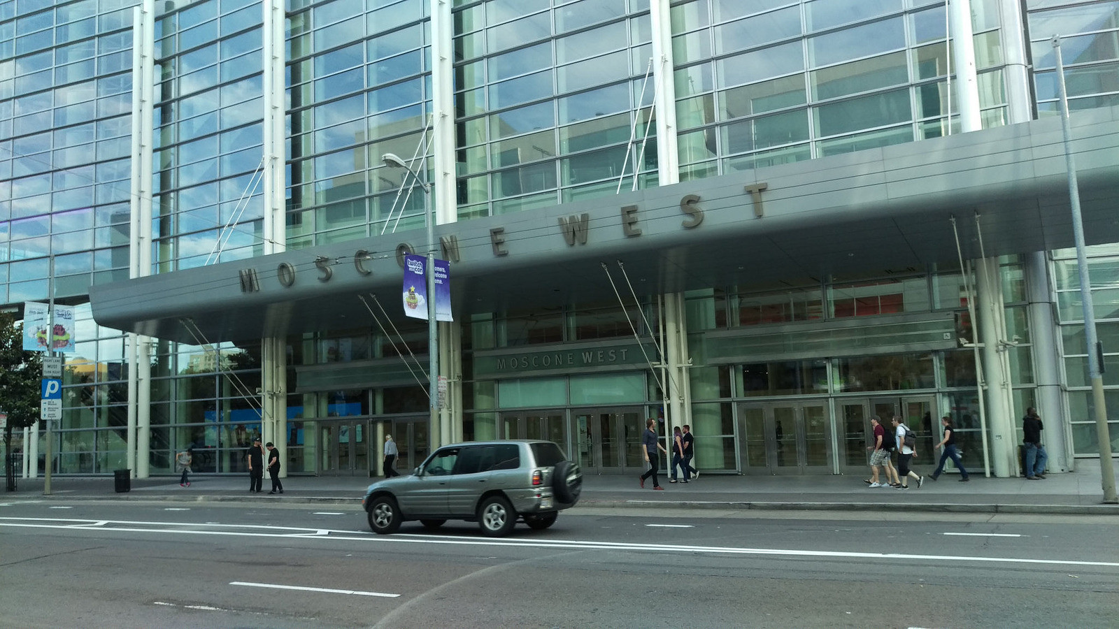 Moscone West Convention Center...