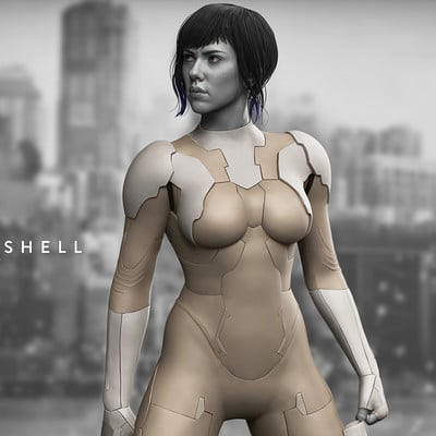Ghost In The Shell - The Major -1/6th Collectible Statue - Mtime